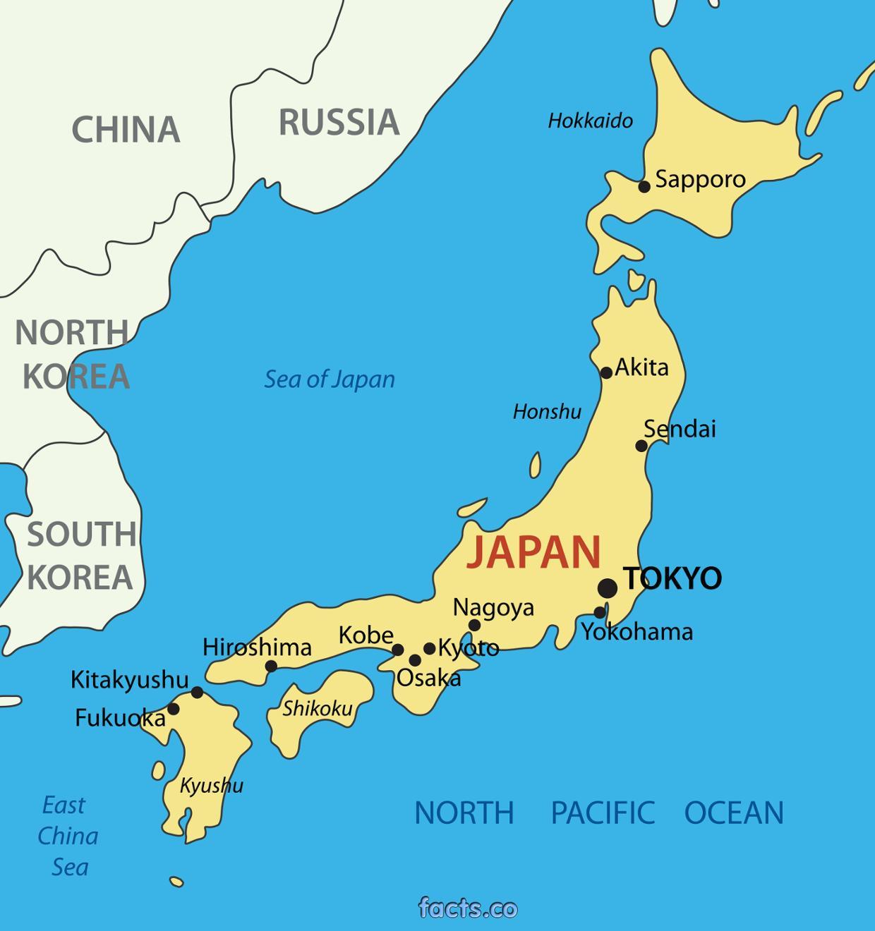 Tokyo emplacement de la carte - la carte de Tokyo emplacement (Kantō - Japon)